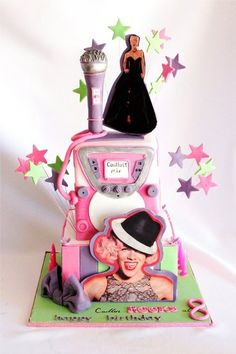 P!nk and karaoke ( My Make a Wish Cake)
