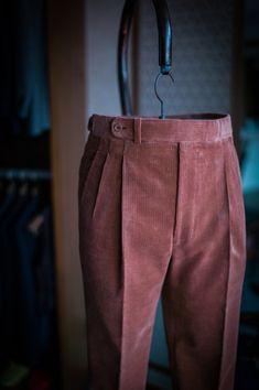 B&TAILOR — B&TAILOR bespoke corduroy trousers