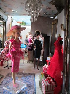 Shopping in LaBelle's | She is really adoring that red dress… | Flickr