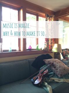 music is magic. why & how to make it so.