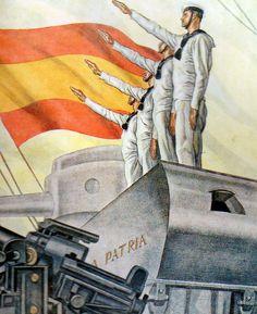 Spain - 1936-39. - GC - poster - @ Carlos Saenz de Tejada.