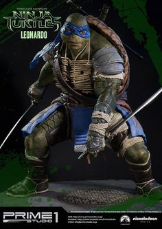 [PRIME 1 STUDIO] As Tartarugas Ninja: Estátua do personagem Leonardo