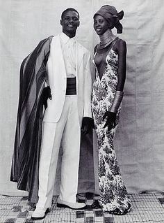 Harpers Bazaar fashion editorial shot by Seydou Keita, May 1998