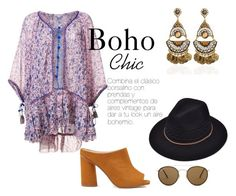 """Boho girls"" by jennifermarchal on Polyvore featuring moda, Poupette St Barth, Miss Selfridge y Ray-Ban"