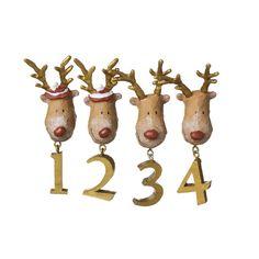 For christmas advent candlesticks...