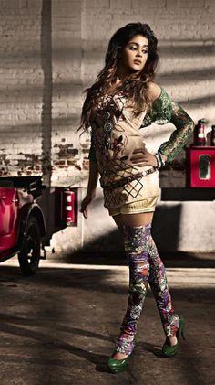 Genelia D'Souza Deshmukh #Bollywood #Fashion #Style