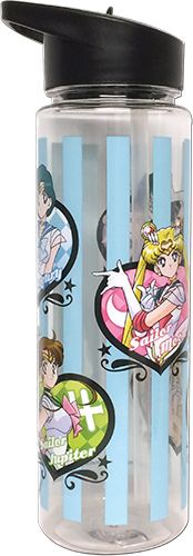 Sailor Moon Water Bottle - Super S Inner Scouts Tritan @Archonia_US