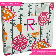 Brand+New//+Fall+2012+Menagerie+Sherbet+Album+.+by+rubylovedesigns,+$60.00