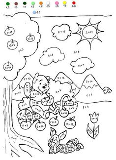 Color Addition Worksheets (free printables for several