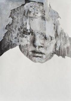 "Saatchi Art Artist Melinda Matyas; Drawing, ""Changes "" #art"