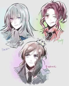 Image result for bad touch trio nyotalia
