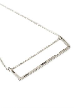 Rectangle Pendant Necklace | FOREVER21 - 1000136351