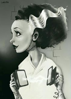 Bride of Frankenstein. ❣Julianne McPeters❣ no pin limits