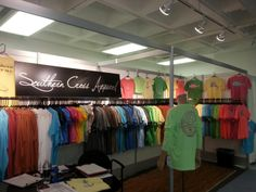 Southern Cross Booth in Atlanta for the April Apparel Market.