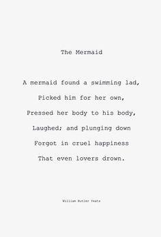 William Yeats - The Mermaid