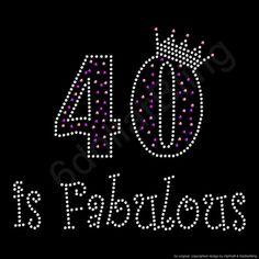 Strass ijzer op overdracht 40 is Fabulous Crystal door 6dollarBling