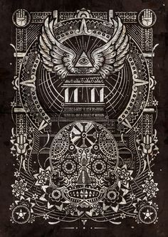 The End by Shotopop on Behance | Digital Art | Illustration | Pattern | Design | Illustration | Black |
