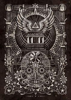 The End by Shotopop on Behance | Digital Art | Illustration | Pattern | Design | Illustration | Black |