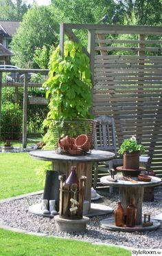 Trädgård med rost, sten, grus o - Hemma hos cbaqke Lawn And Garden, Plank, Image, Inspiration, Gardening, Biblical Inspiration, Planks, Inspirational, Horticulture