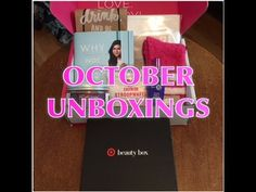 October POPSUGAR MUST HAVE BOX + Target Beauty Box Unboxings