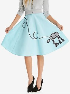 Her Universe Star Wars AT-AT SkirtHer Universe Star Wars AT-AT Skirt,