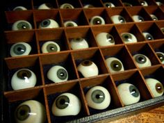 Skinner And Hyde: Medical - Great collection of vintage eyes.