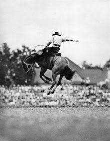 Vintage bronc rider - I want this print/one similar