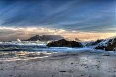 Stunning picture of table mountain