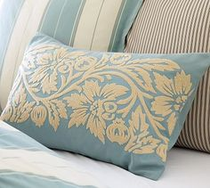 I love this gorgeous pillow cover from PB!