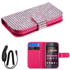 GIFTED SAMSUNG GALAXY RING M840 PREVAIL 2 PINK DIAMOND BLING MAGNET LOCK FLIP COVER WALLET ID CASE +FREE CAR CHARGER from [ACCESSORY ARENA] Valor http://www.amazon.com/dp/B00F78J3SA/ref=cm_sw_r_pi_dp_xJA5tb1P19Q8D
