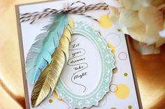 Card Tutorial - Let Your Dreams Take Flight