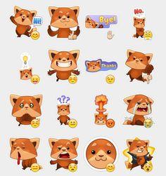 Freddie the Fox Stickers Set | Telegram Stickers