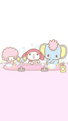 My Melody Wallpaper, Sanrio Wallpaper, Bear Wallpaper, Kawaii Wallpaper, Gal Pal, Little Twin Stars, Beautiful Girl Photo, Sanrio Characters, Fictional Characters