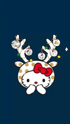 Hello Kitty Christmas Reindeer