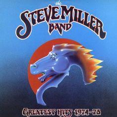 """The Steve Miller Band """"Greatest Hits 1974 - Full Album. Super Great Steve Miller Album, I still have my Original Vinyl Album! 70s Music, I Love Music, Kinds Of Music, Rock Music, Music Icon, Steve Miller Band, Greatest Songs, Greatest Hits, Greatest Albums"""