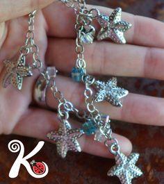 pulseira estrelas do mar. R$35,00