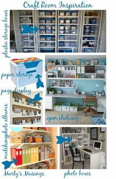 Craft Room Inspiration for a Budget Makeover
