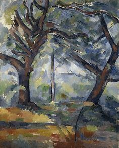 A late work by Cézanne, The Big Trees