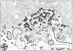 fantasy village mountain campaign mountains google concept planer arcadia quest