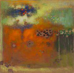 R Stevens, Untitled, No. 48-14, Pastel on Paper, 27″ x 26″ Framed