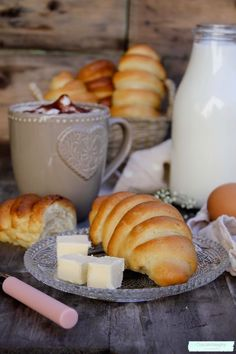 receta de panecillos de leche