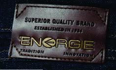 etiqueta de cintura para jean con apliques de metal energie jeans. Garra, Promotional Design, Leather Label, Brand Packaging, Hang Tags, Label Design, Patches, Branding, Moda Masculina