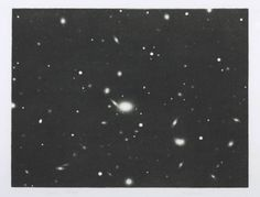 Vija Celmins 'Galaxy', 1975 © Vija Celmins