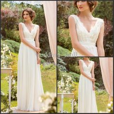 Simple Garden Wedding Dresses