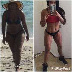 It's critical to stay motivate throughout the process. So many of us lose weight for the wrong reasons. The way we justify to ourselves is not inspiring enough. You need to be inspire by what you're doing because losing weight is challenging.