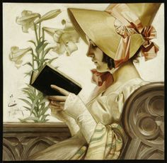 JC Leyendecker, 1905 (via : Flickr - Galerie de Plum leaves)