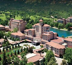 Colorado Resorts | The Broadmoor | Historic Luxury Hotels - This hotel has the most amazing restaurant - you won't forget it!