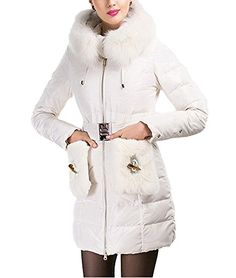 Pinklily Women's Fashion Casual Fur Hooded Winter Down Coat  http://www.yearofstyle.com/pinklily-womens-fashion-casual-fur-hooded-winter-down-coat/