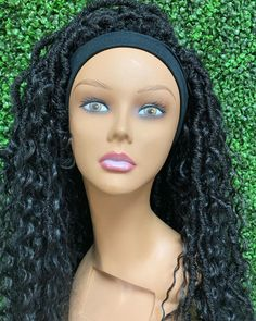 "Conyers Natural Hair & Makeup on Instagram: ""Custom Headband wigs are here! Design your next headband wig. DM for details!"""
