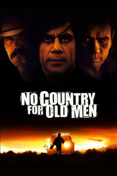 No Country for Old Men movie poster - #poster, #bestposter, #fullhd, #fullmovie, #hdvix, #movie720pLlewelyn Moss stumbles upon dead bodies, $2 million and a hoard of heroin in a Texas desert, but methodical killer Anton Chigurh comes looking for it, with local sheriff Ed Tom Bell hot on his trail. The roles of prey and predator blur as the violent pursuit of money and justice collide.
